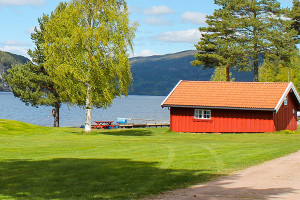 Sperillen Camping Hytter Båthuset